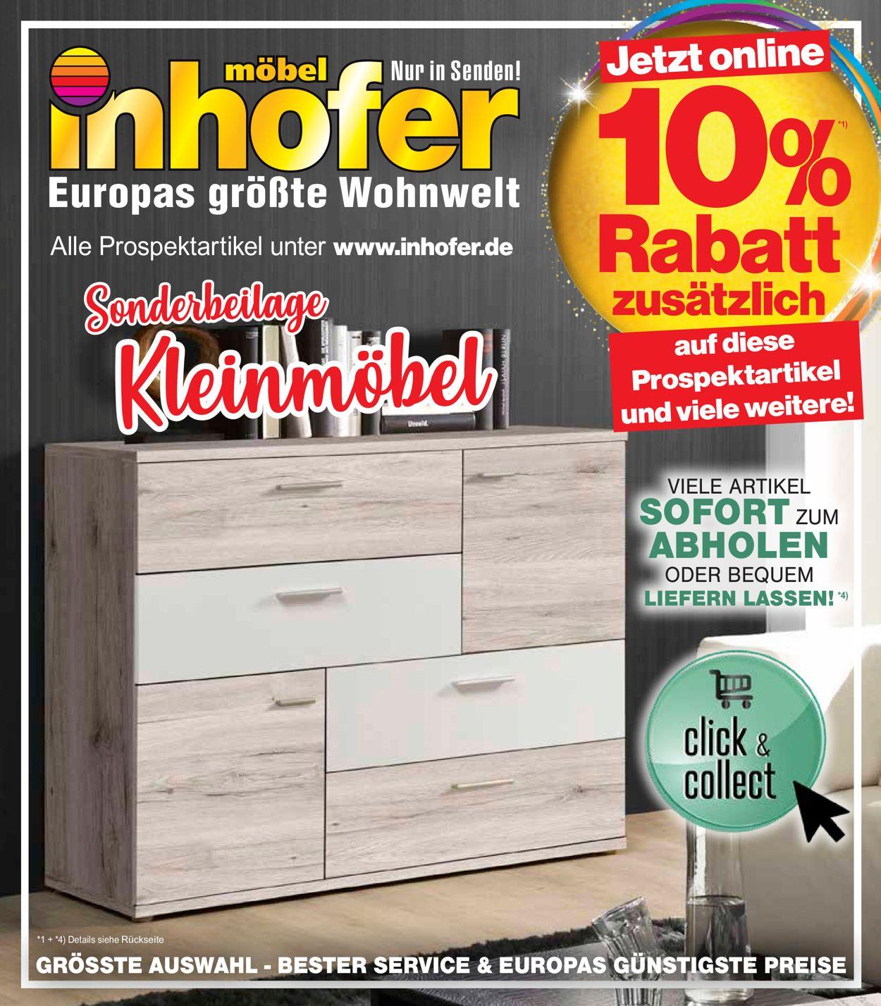 Möbel Inhofer Prospekt - Aktuell vom 11.02-21.02.2021