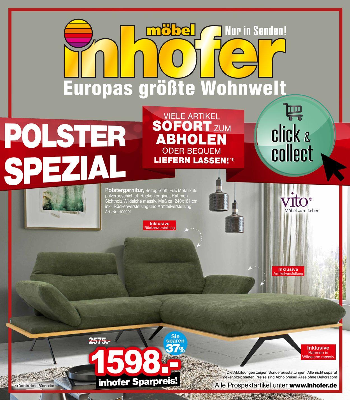 Möbel Inhofer Prospekt - Aktuell vom 29.04-04.05.2021