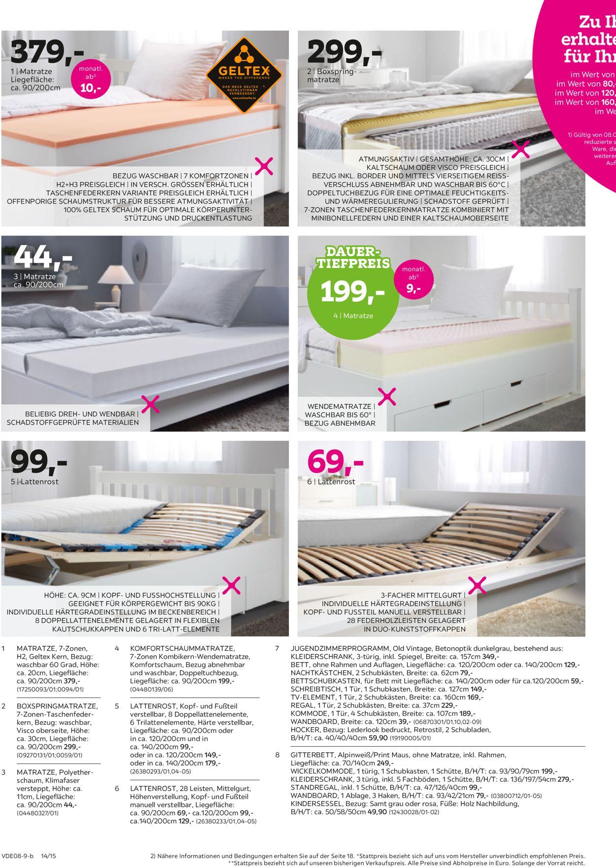 Mömax Prospekt - Aktuell vom 05.08-17.08.2019 (Seite 14)