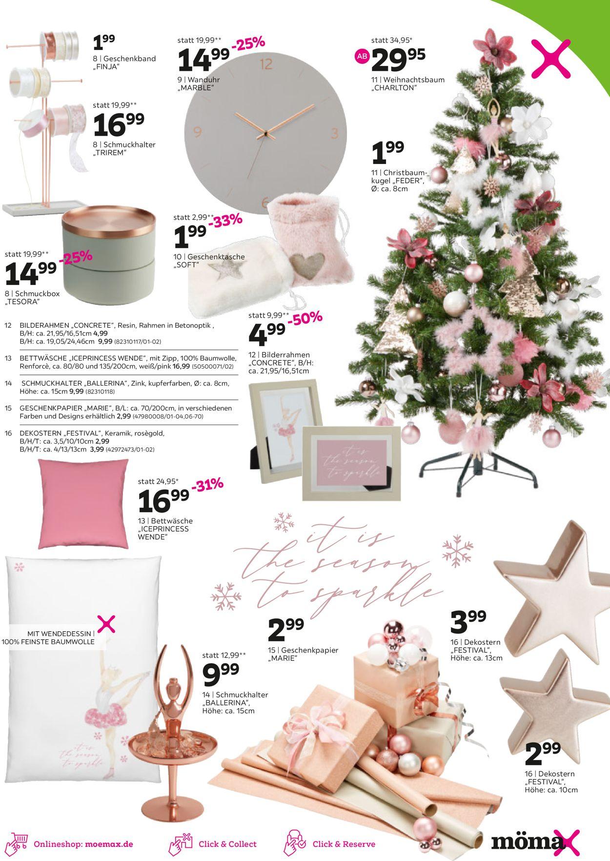 Mömax - Weihnachtsprospekt 2020 Prospekt - Aktuell vom 16.11-28.11.2020 (Seite 3)