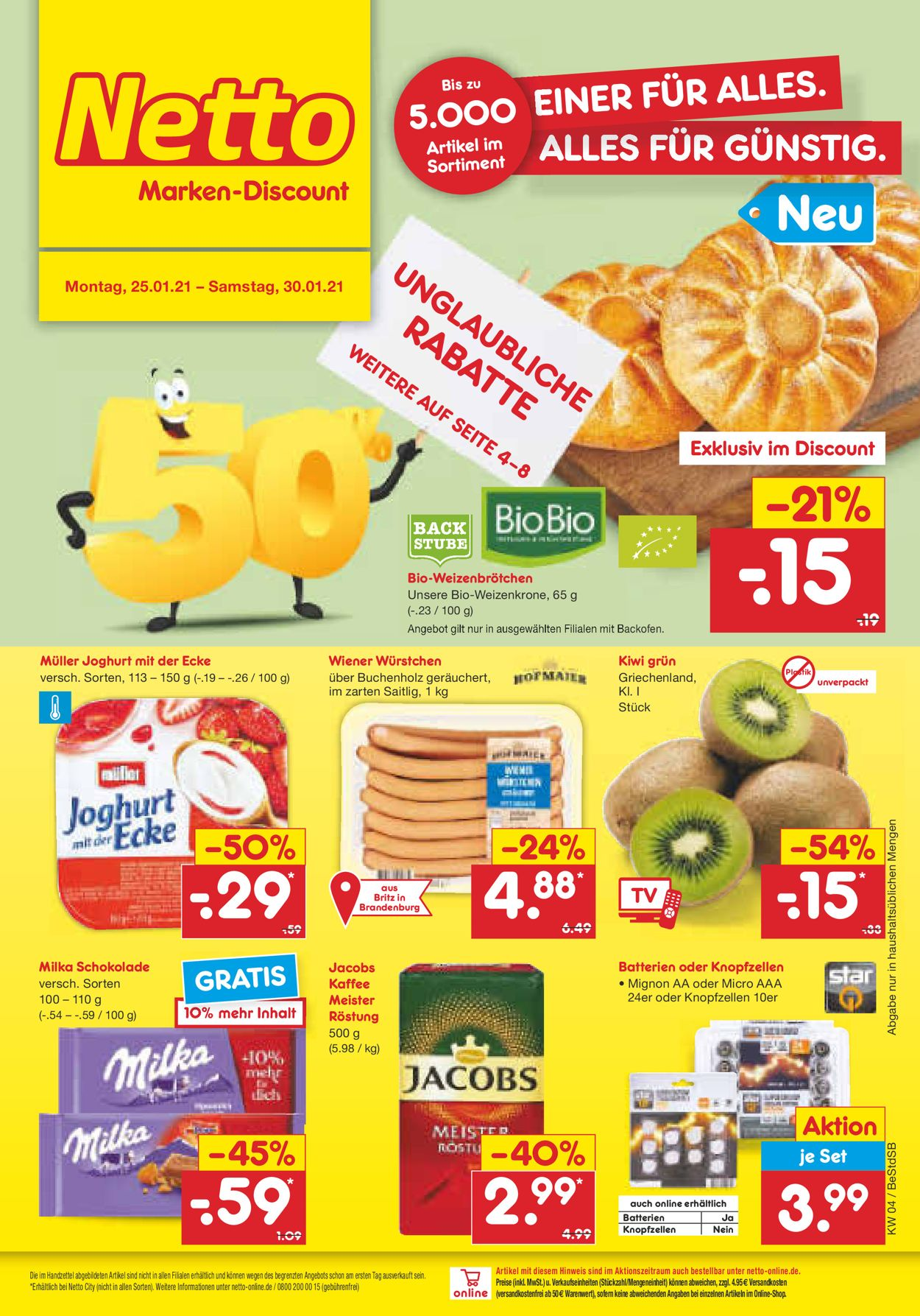 Netto Marken Discount Prospekt   20.20   20.20.20   Rabato
