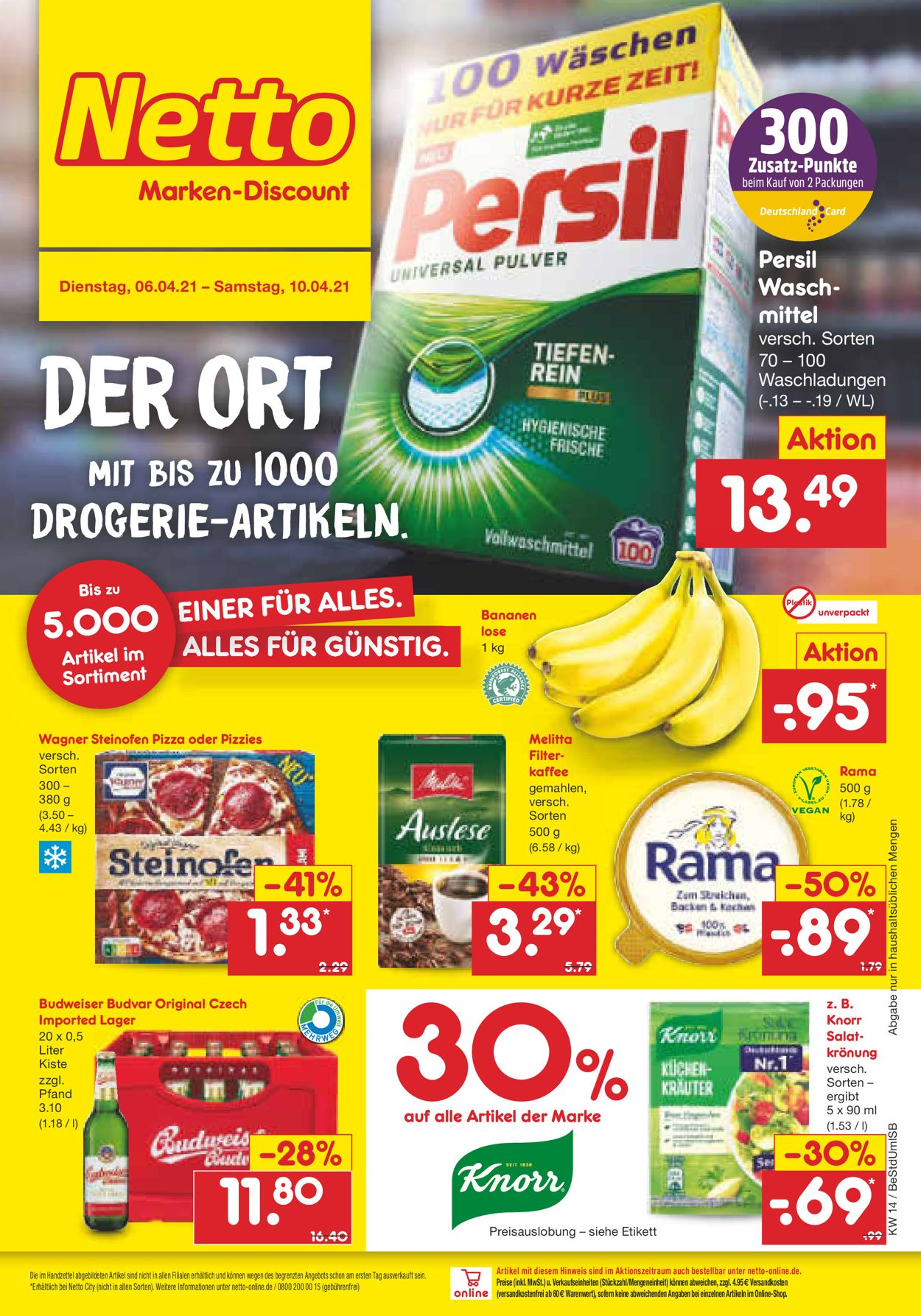 Netto Marken-Discount Prospekt - Aktuell vom 06.04-10.04.2021