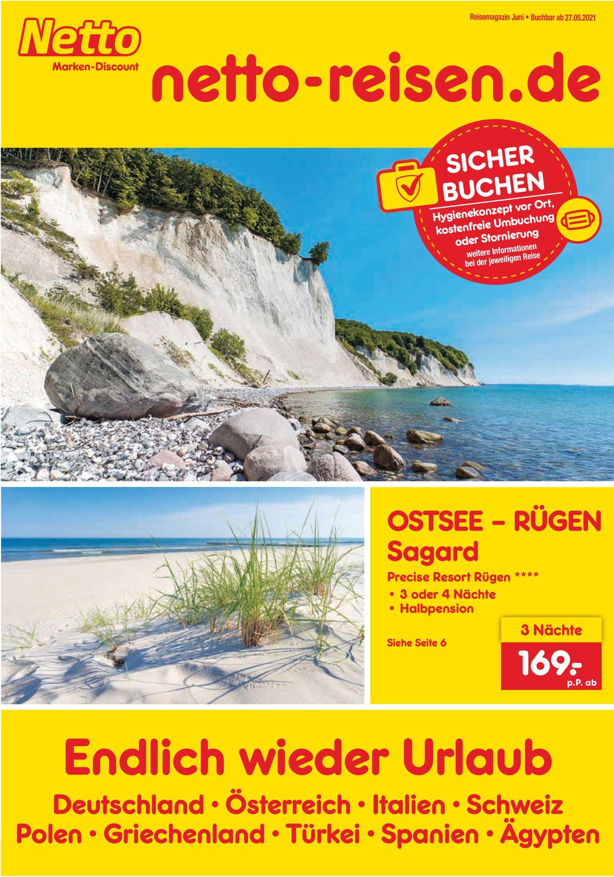 Netto Marken-Discount Prospekt - Aktuell vom 31.05-30.06.2021