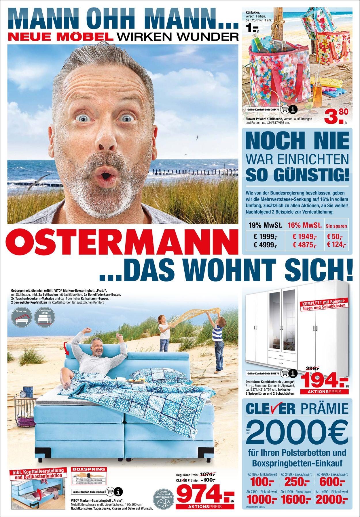Ostermann Prospekt - Aktuell vom 05.08-25.08.2020
