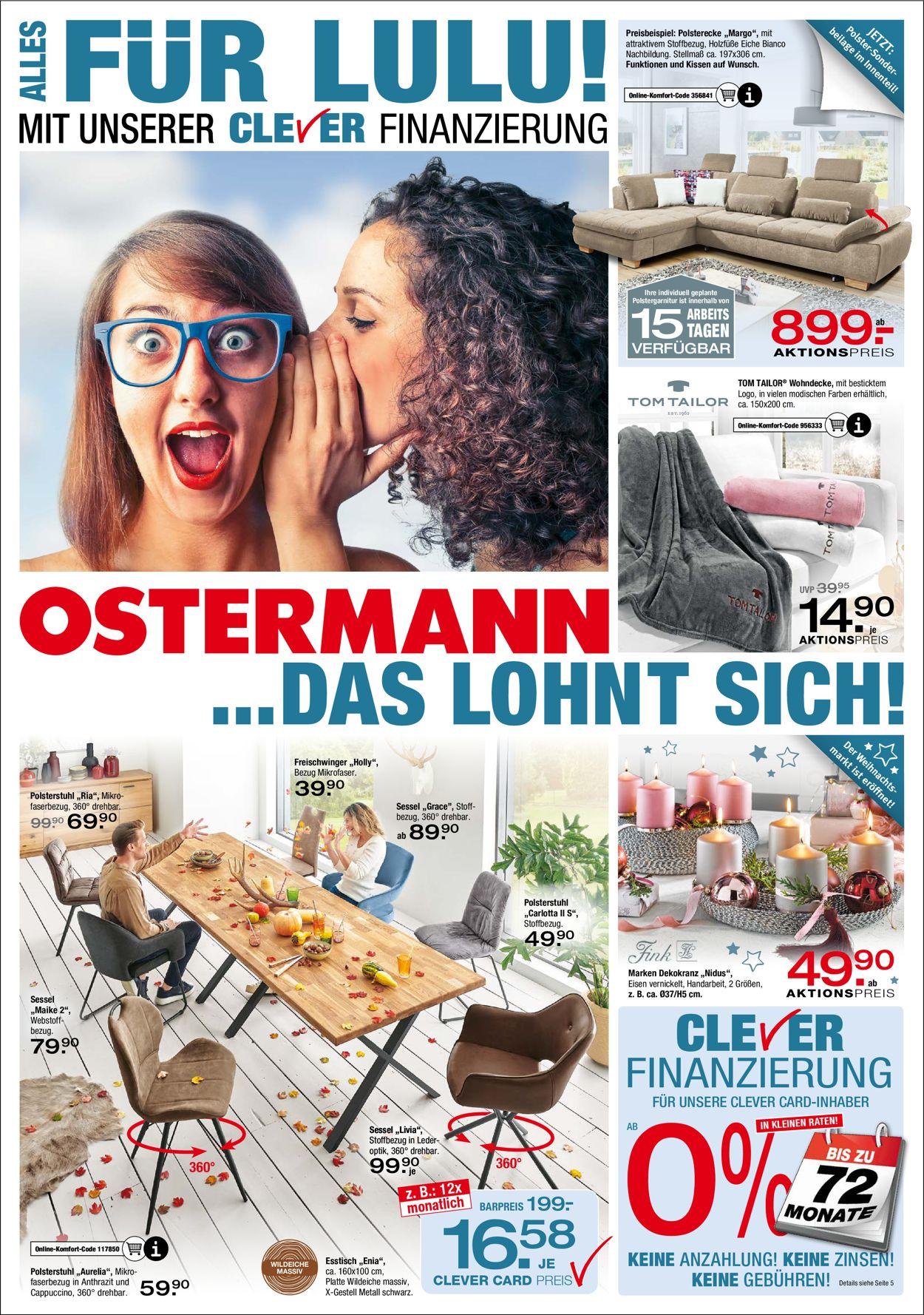 Ostermann Prospekt - Aktuell vom 28.10-10.11.2020