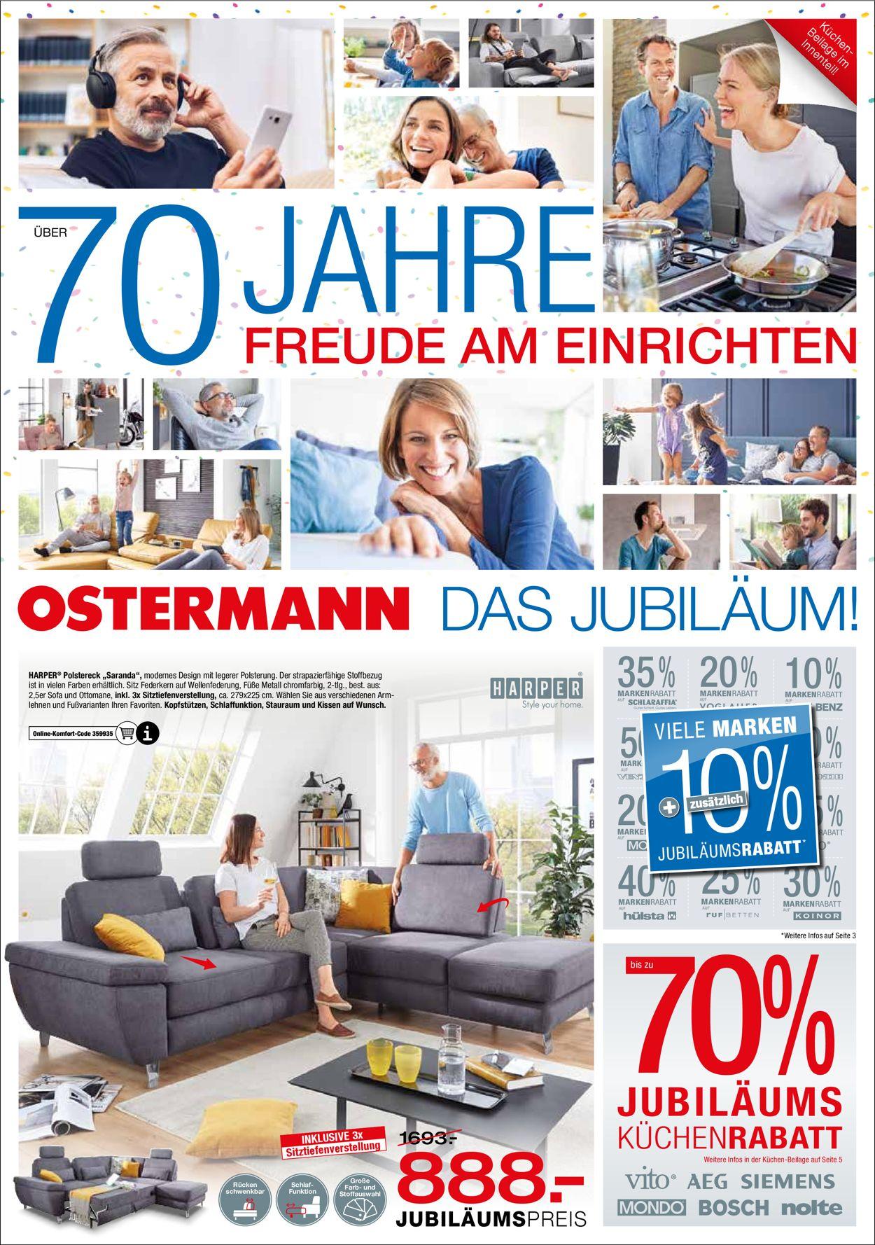 Ostermann Prospekt - Aktuell vom 17.03-30.03.2021