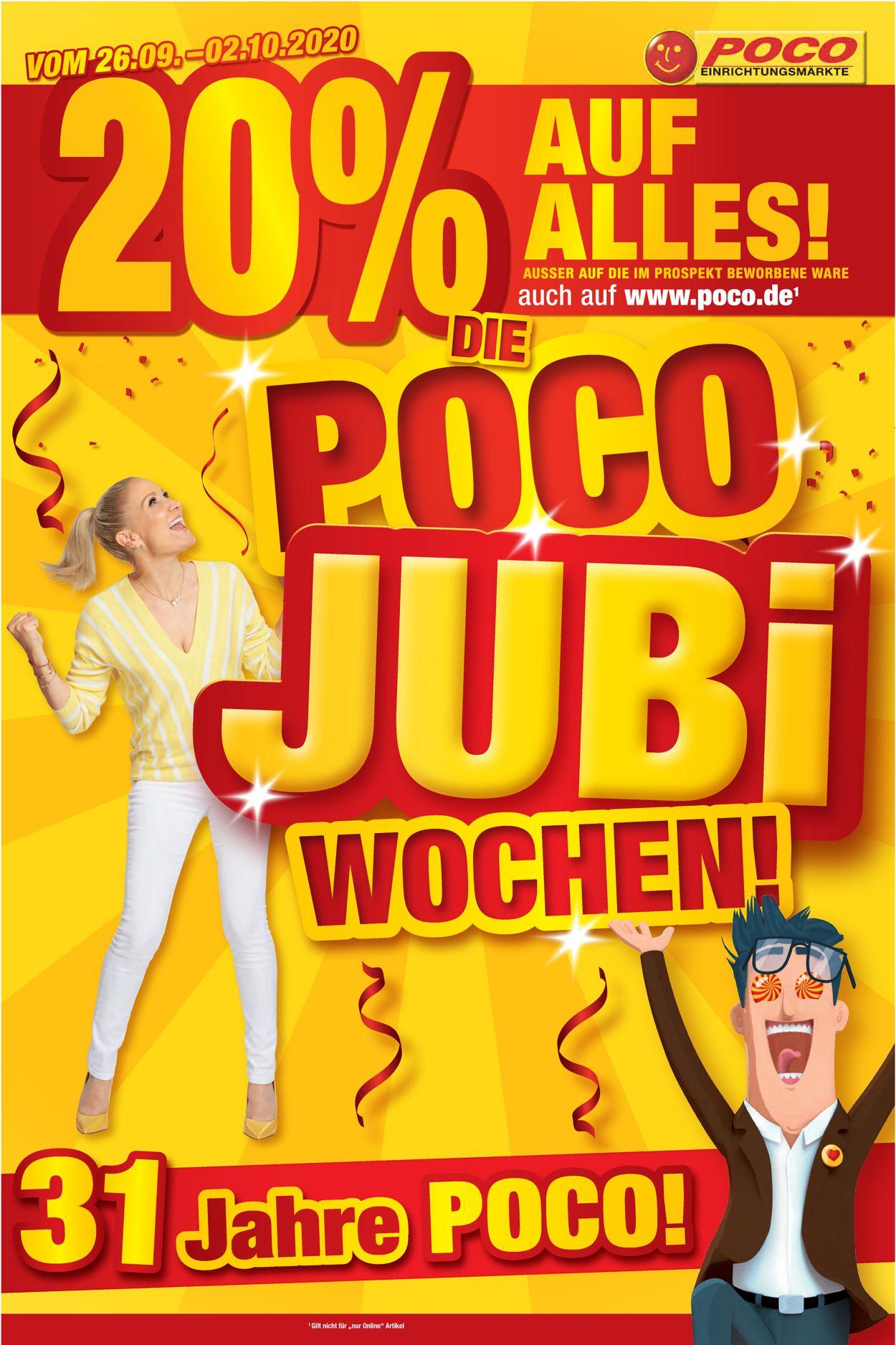 Poco Prospekt - Aktuell vom 26.09-02.10.2020