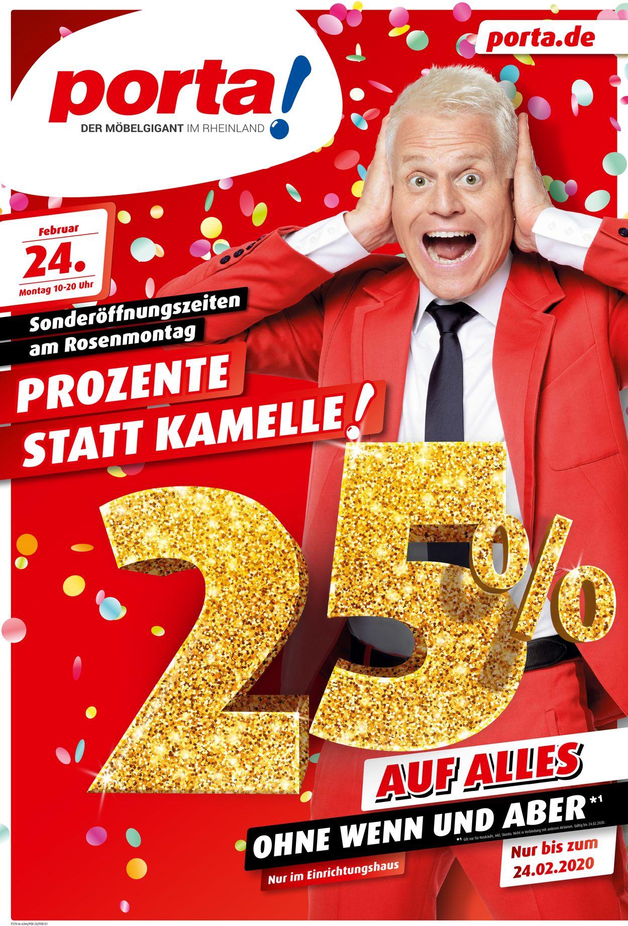 Porta Prospekt - Aktuell vom 19.02-24.02.2020