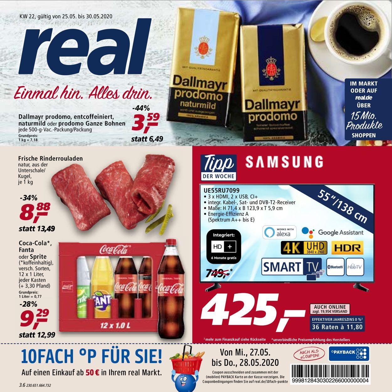 Real Prospekt - 25.05 - 30.05.2020 | Rabato