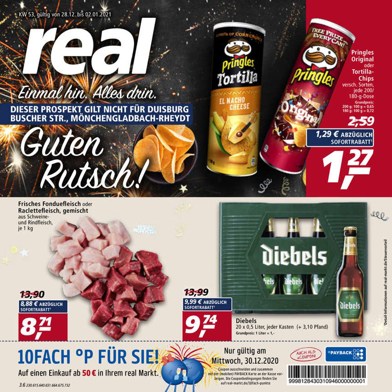 Real Prospekt - 28.12 - 02.01.2021 | Rabato