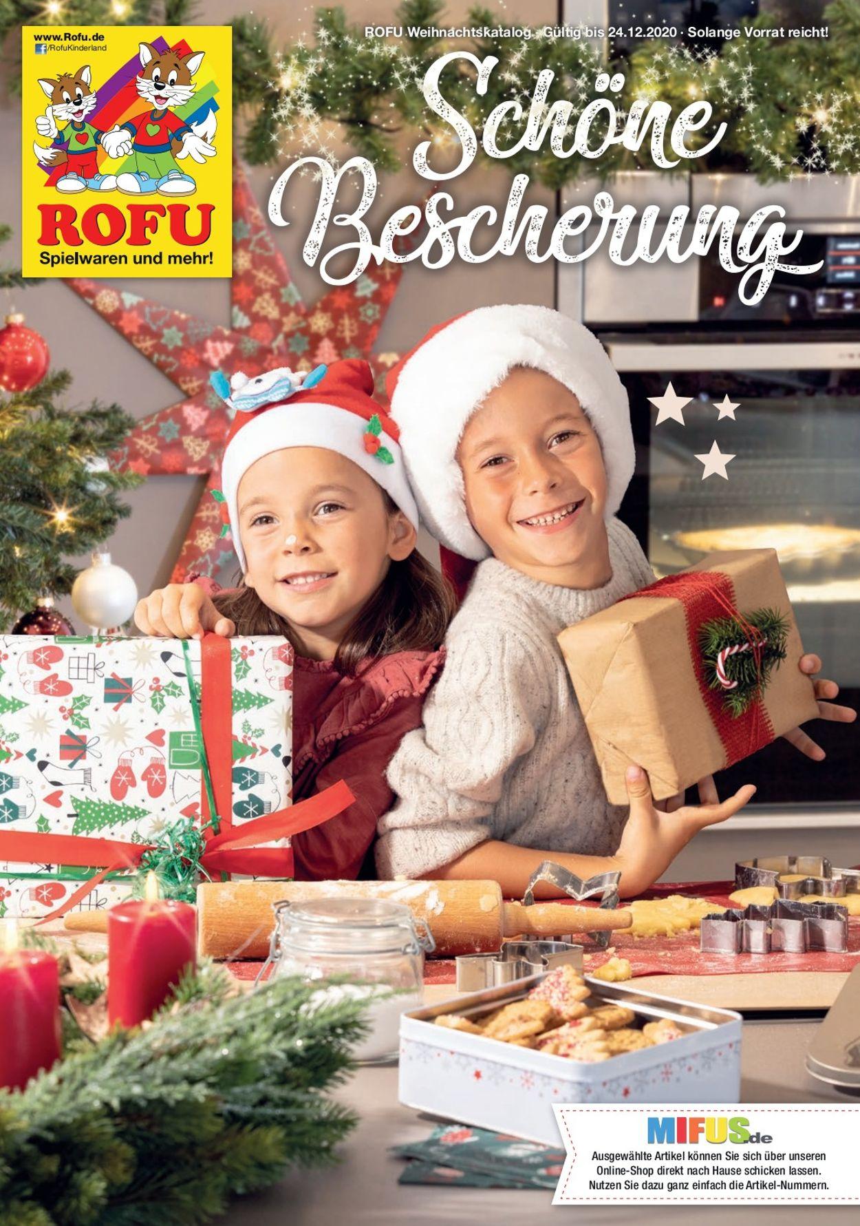 ROFU Kinderland Prospekt - Aktuell vom 26.10-24.12.2020