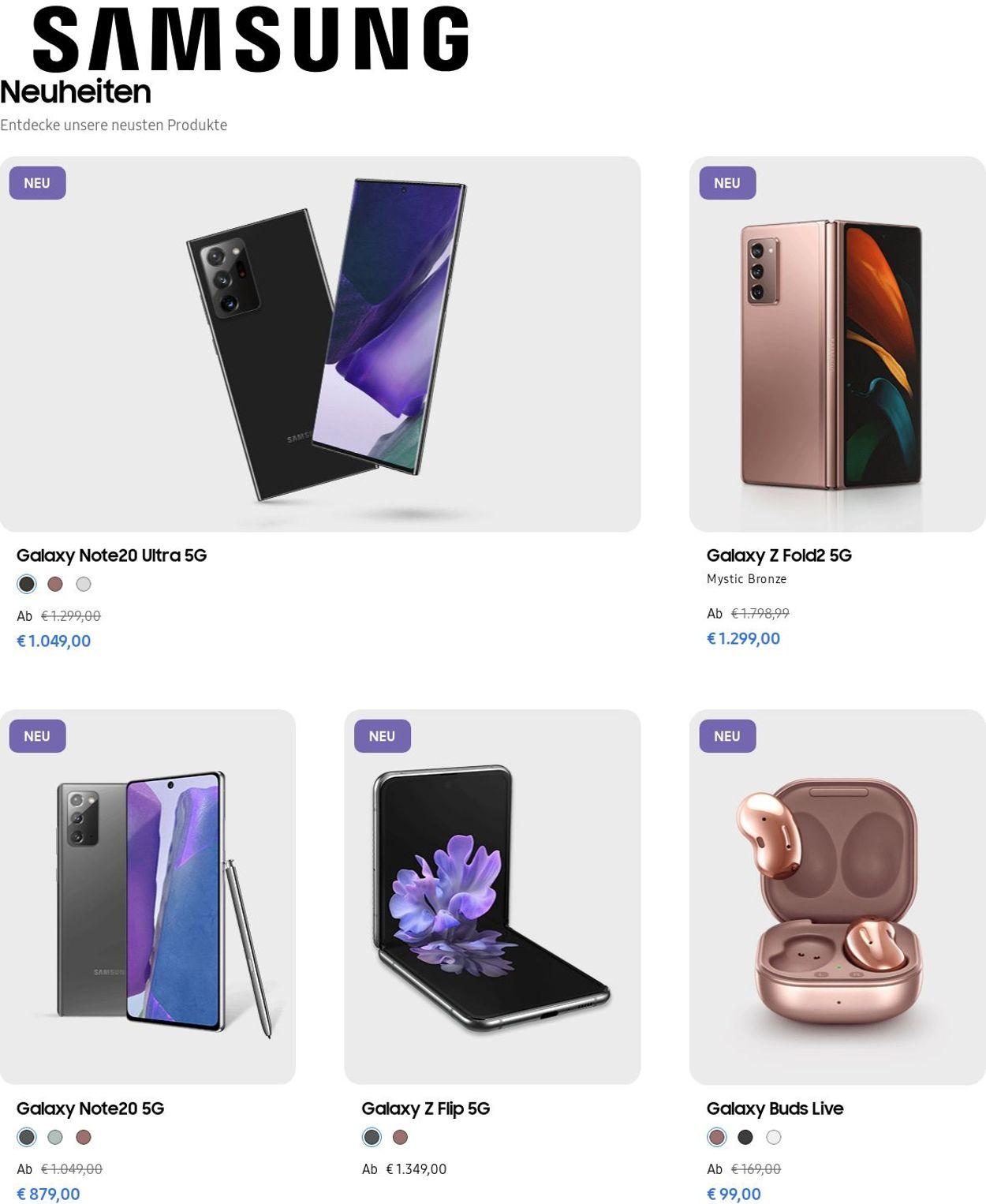 Samsung Prospekt - Aktuell vom 10.06-16.06.2021