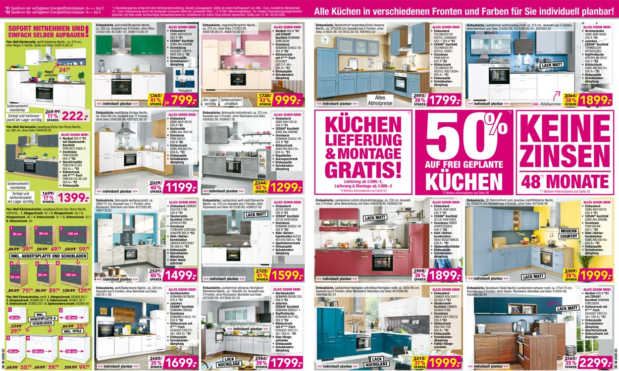 SB Möbel Boss Prospekt - Aktuell vom 31.08-06.09.2020 (Seite 2)