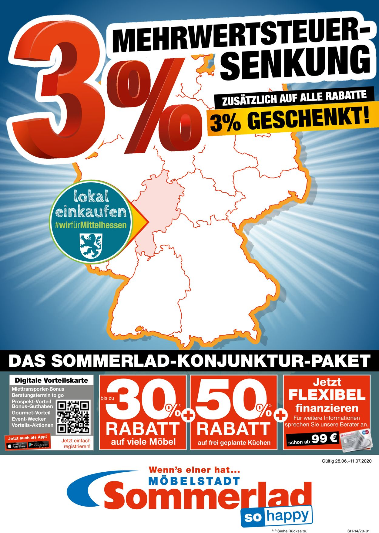 Sommerlad Prospekt - Aktuell vom 28.06-11.07.2020