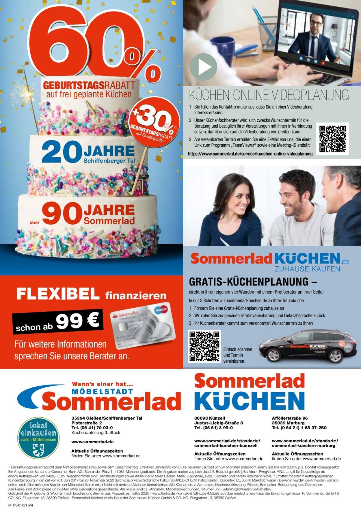 Sommerlad Prospekt - Aktuell vom 01.01-31.01.2021 (Seite 24)