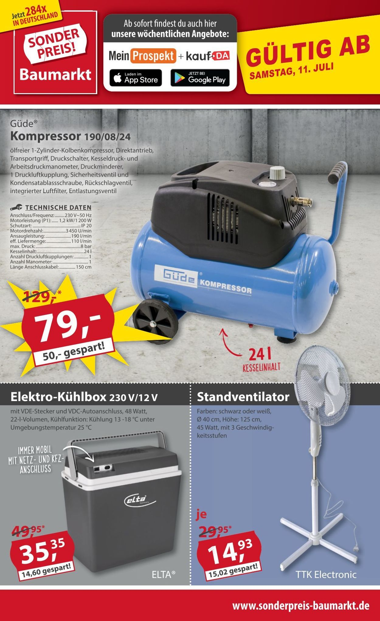 Sonderpreis Baumarkt Prospekt - Aktuell vom 11.07-17.07.2020