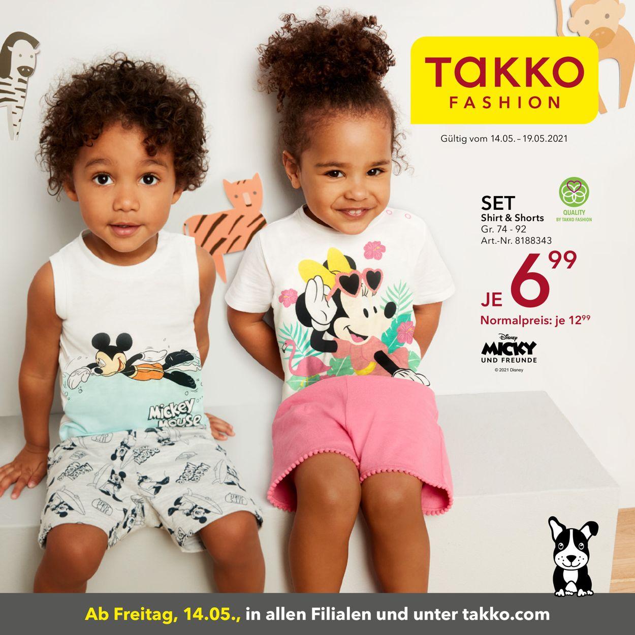 Takko Fashion Prospekt - Aktuell vom 14.05-19.05.2021