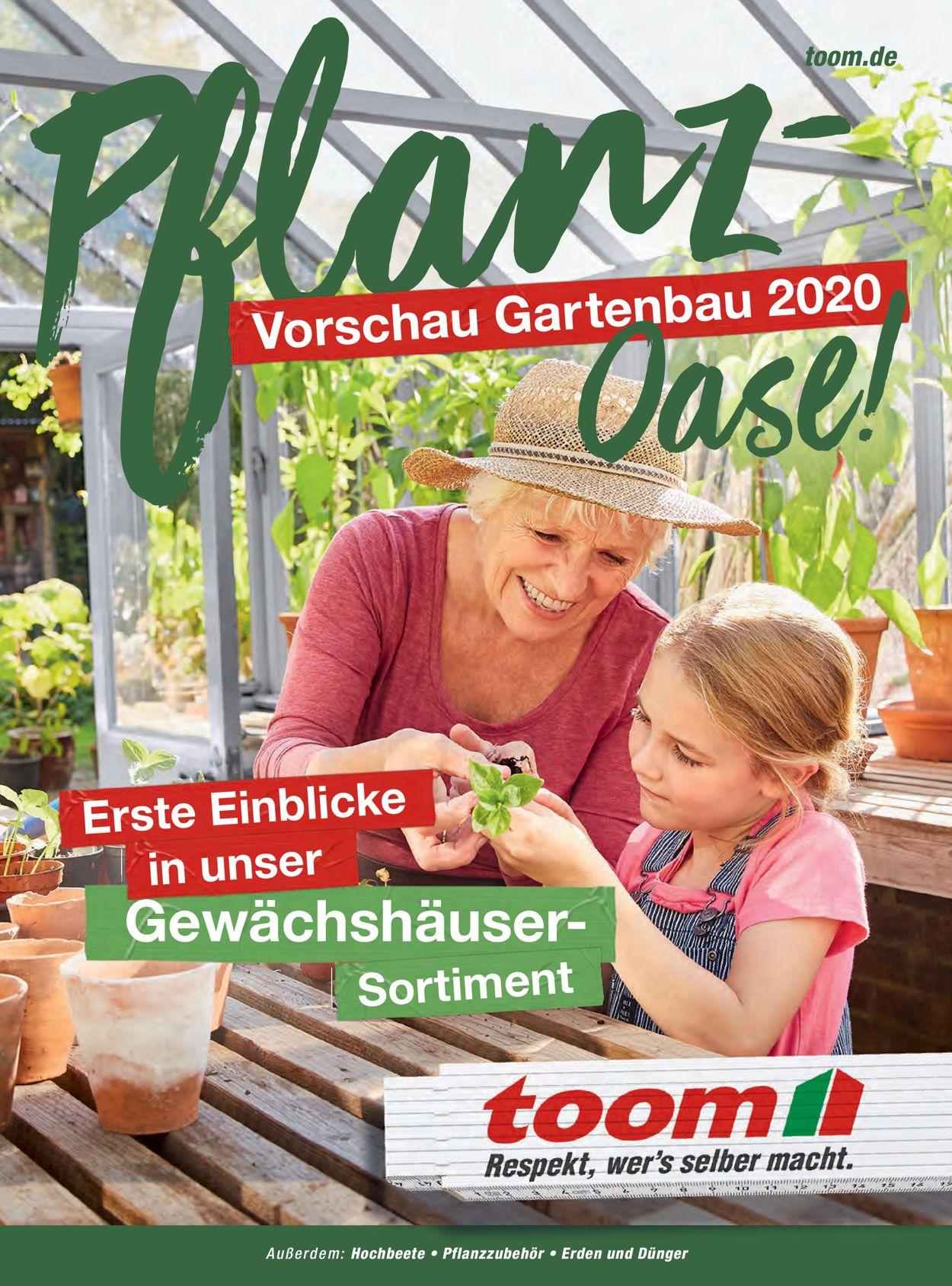 toom Baumarkt Prospekt - Aktuell vom 01.06-31.08.2020