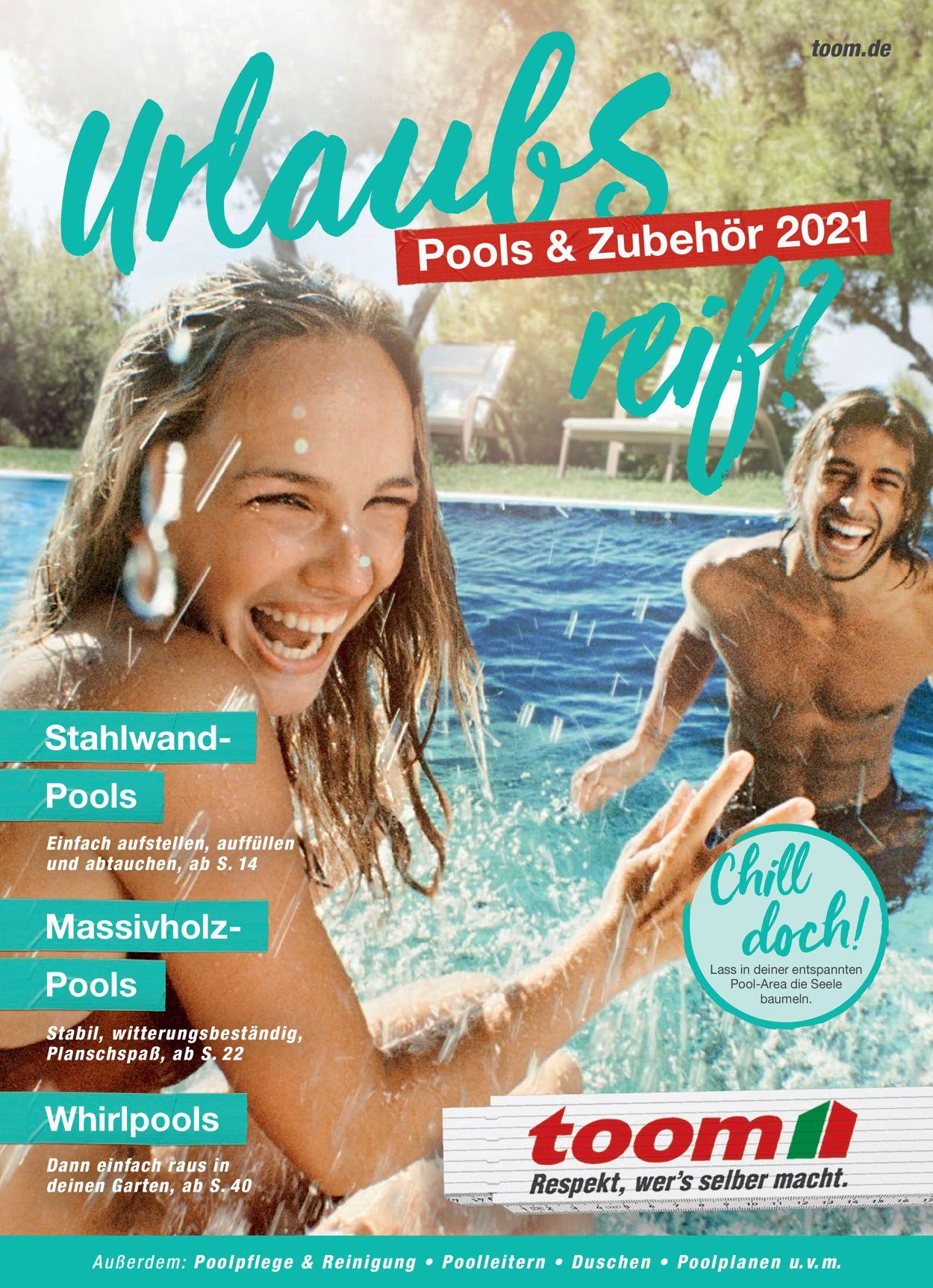 toom Baumarkt Prospekt - Aktuell vom 22.03-31.08.2021