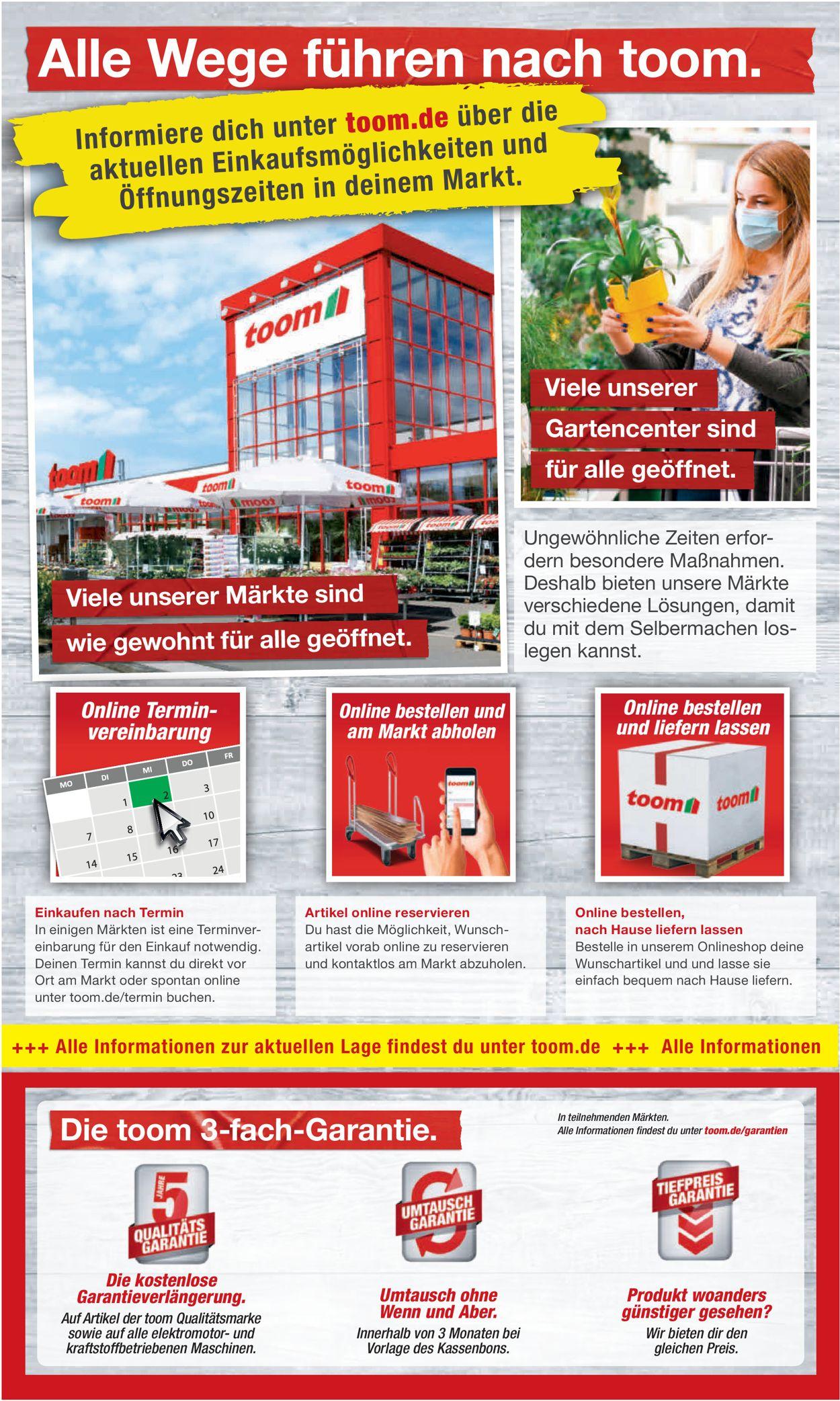 toom Baumarkt Prospekt - Aktuell vom 17.04-23.04.2021 (Seite 2)