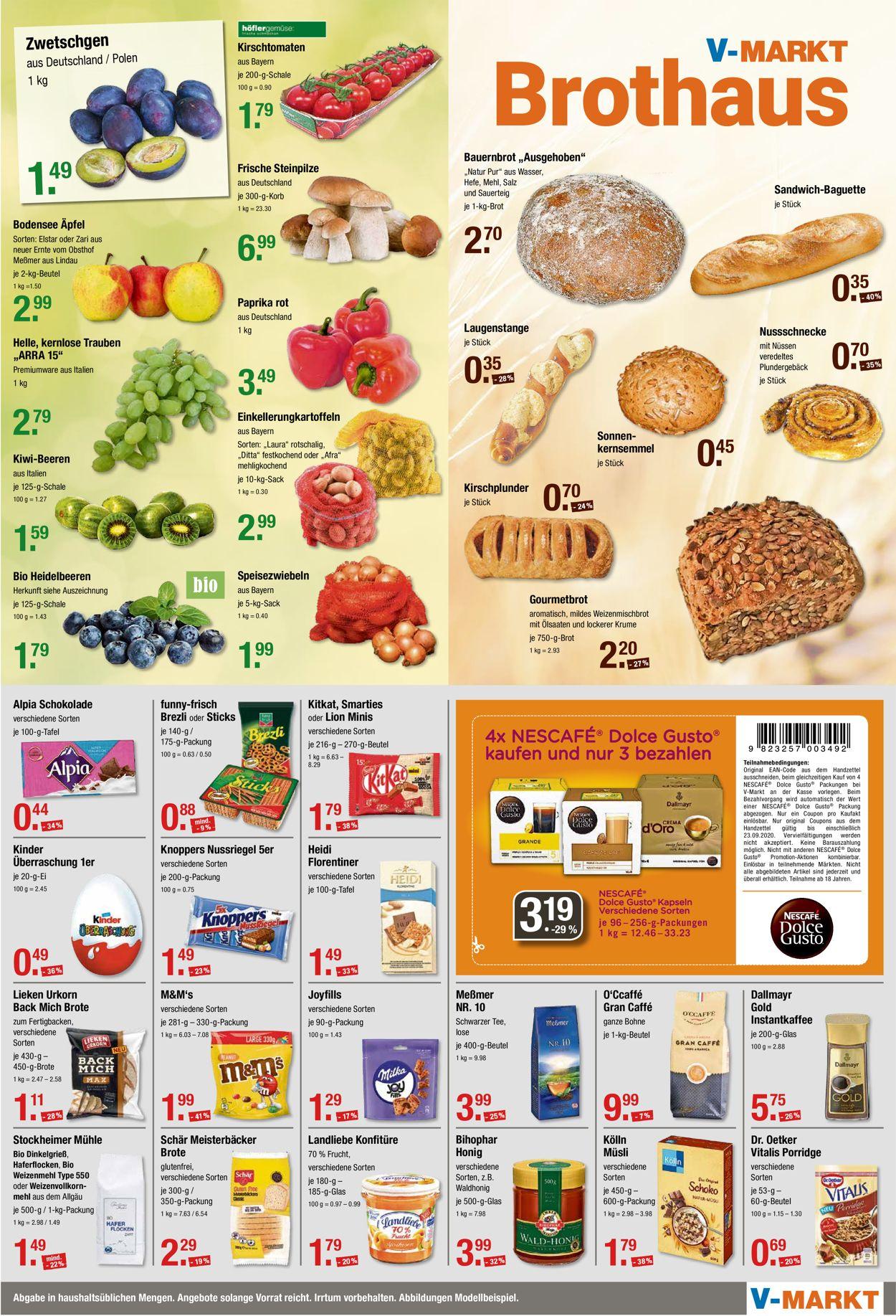 V-Markt Prospekt - Aktuell vom 17.09-23.09.2020 (Seite 4)