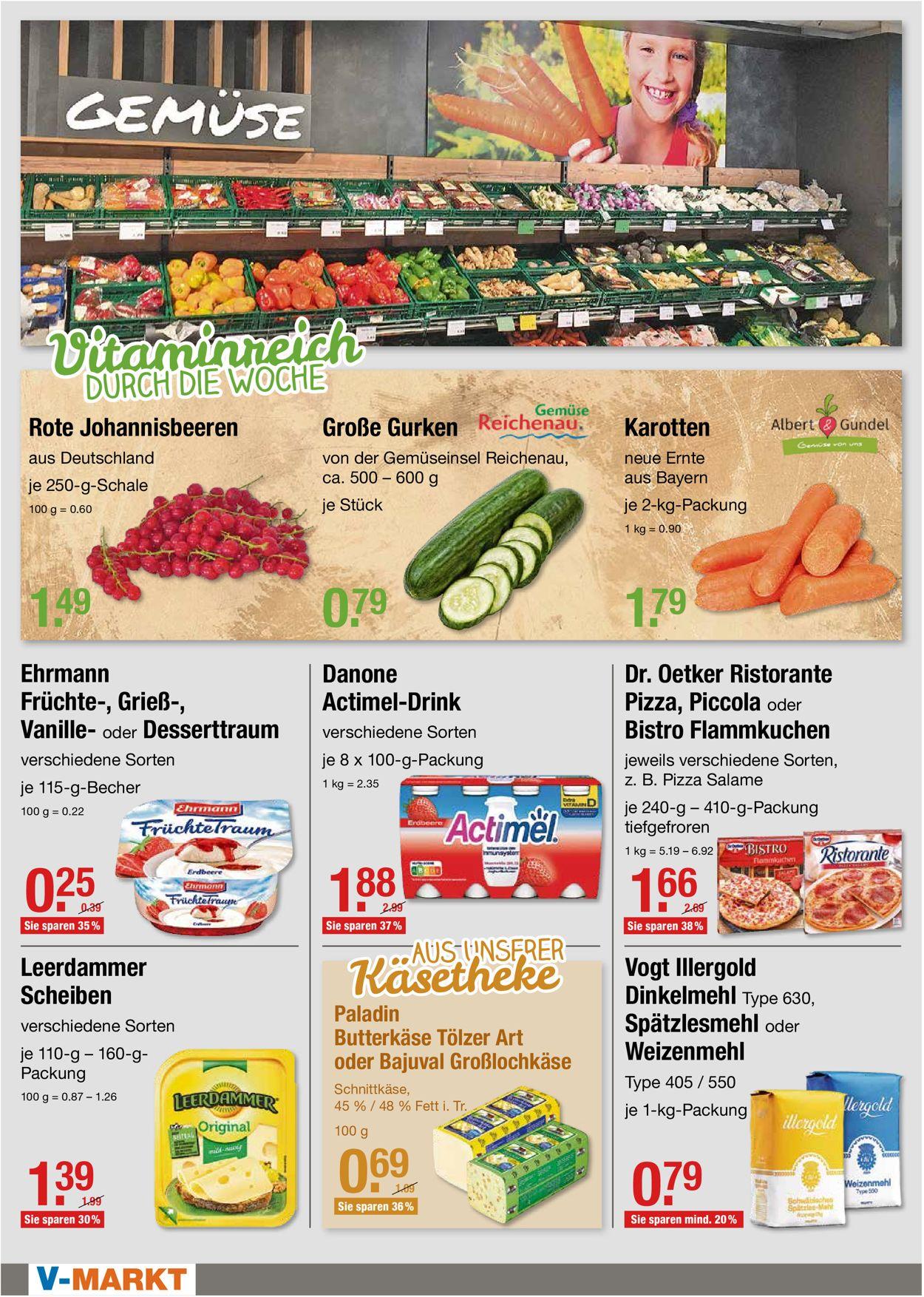 V-Markt Prospekt - Aktuell vom 02.08-04.08.2021 (Seite 2)