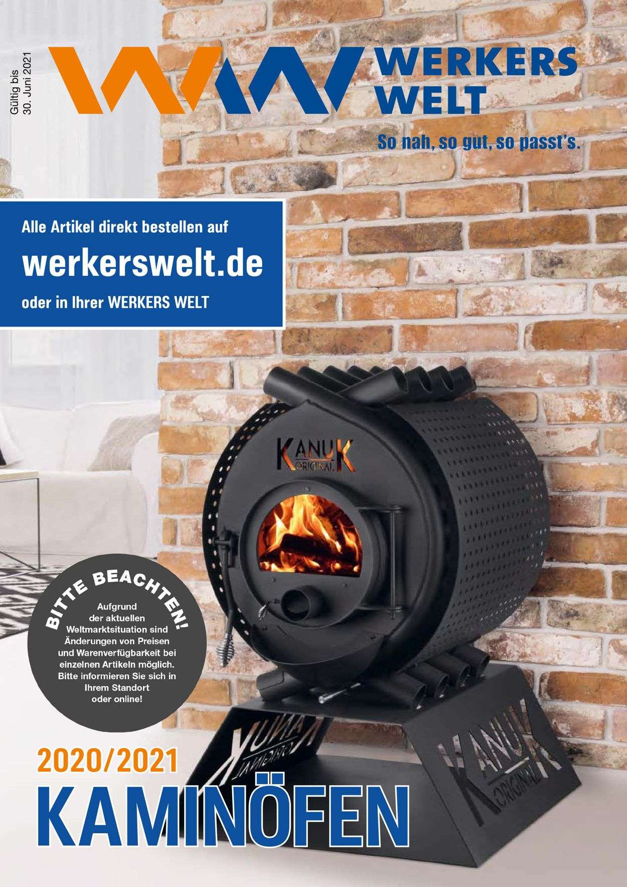 Werkers Welt Prospekt - Aktuell vom 11.06-31.08.2021