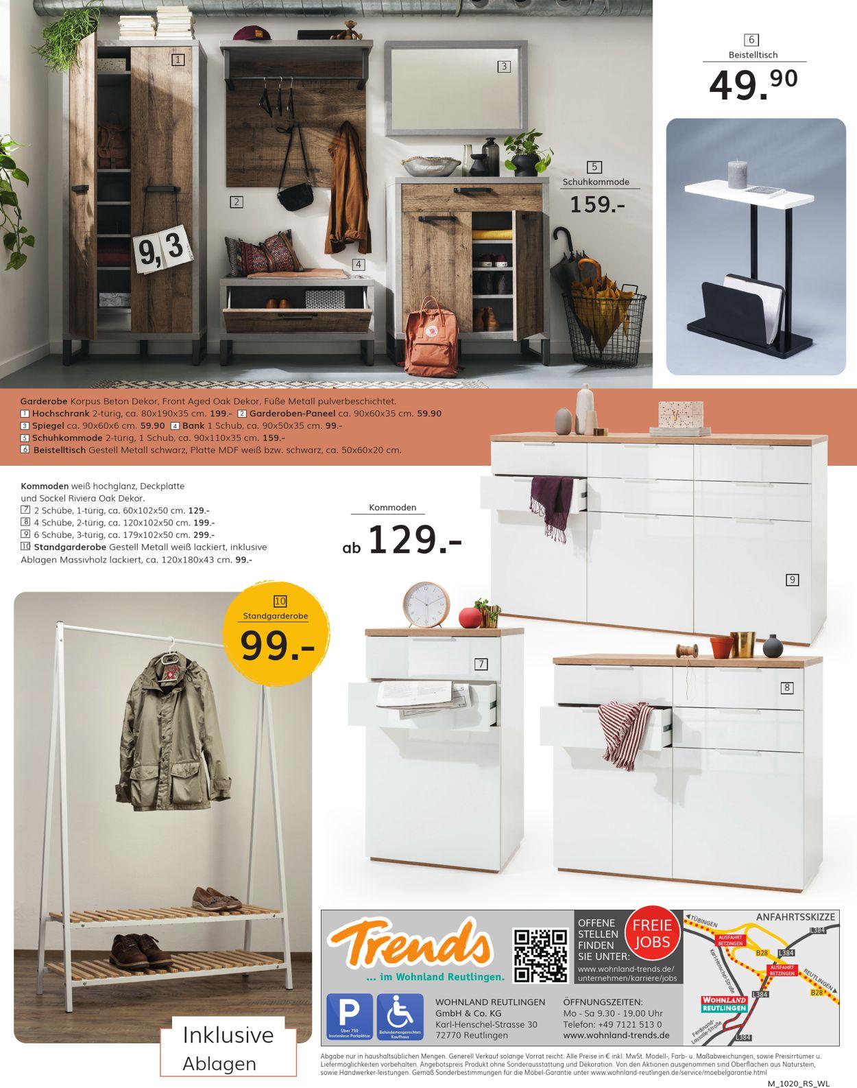 Wohnland Reutlingen Prospekt - Aktuell vom 05.10-12.10.2020 (Seite 8)