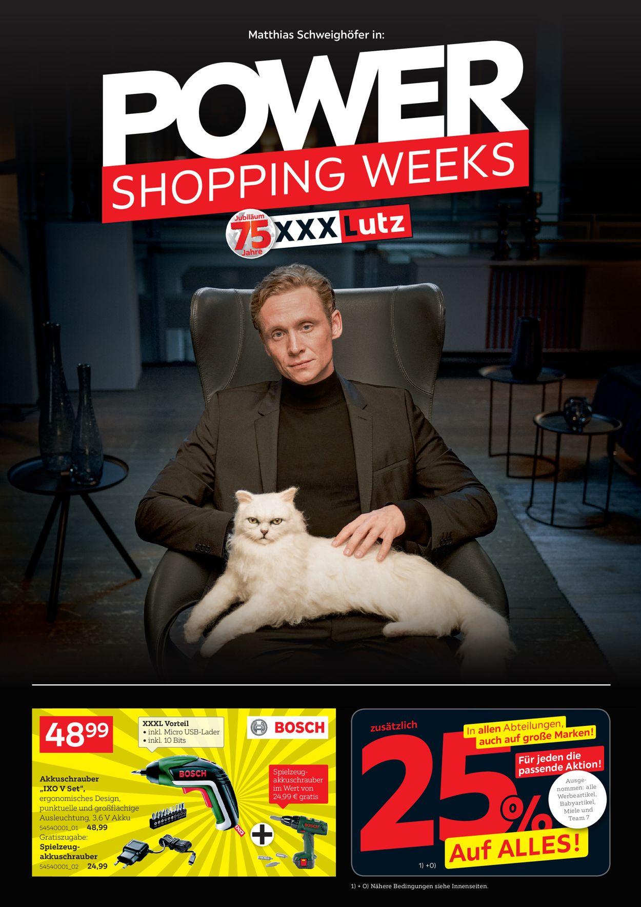 XXXL - Power Shopping Weeks 2020 Prospekt - Aktuell vom 17.11-01.12.2020
