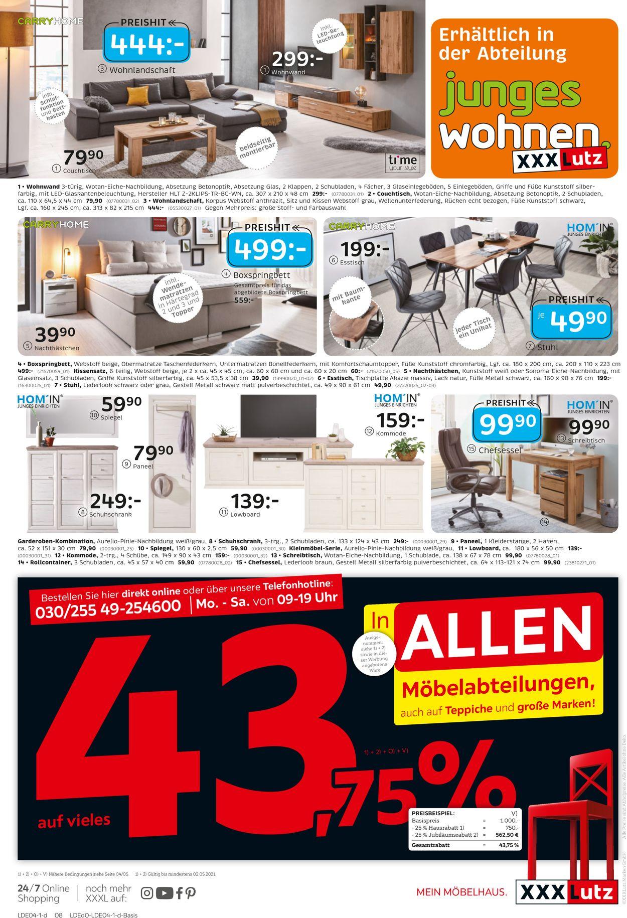 XXXL Prospekt - Aktuell vom 12.04-18.04.2021 (Seite 8)
