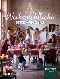 Depot Weihnachtsprospekt 2019