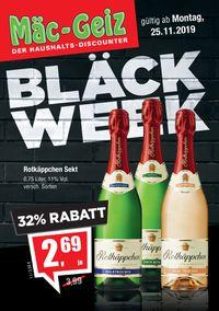 Mäc-Geiz - Black Week 2019