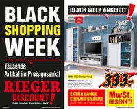 Möbel Rieger Black Week 2020