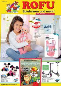 ROFU Kinderland Weihnachtsprospekt 2020