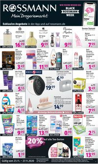 Rossmann BLACK WEEK 2020
