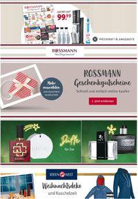 Rossmann Weihnachtsprospekt 2020
