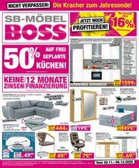 SB Möbel Boss Cyber Monday 2020