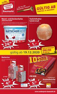 Sonderpreis Baumarkt Weihnachtsprospekt 2020