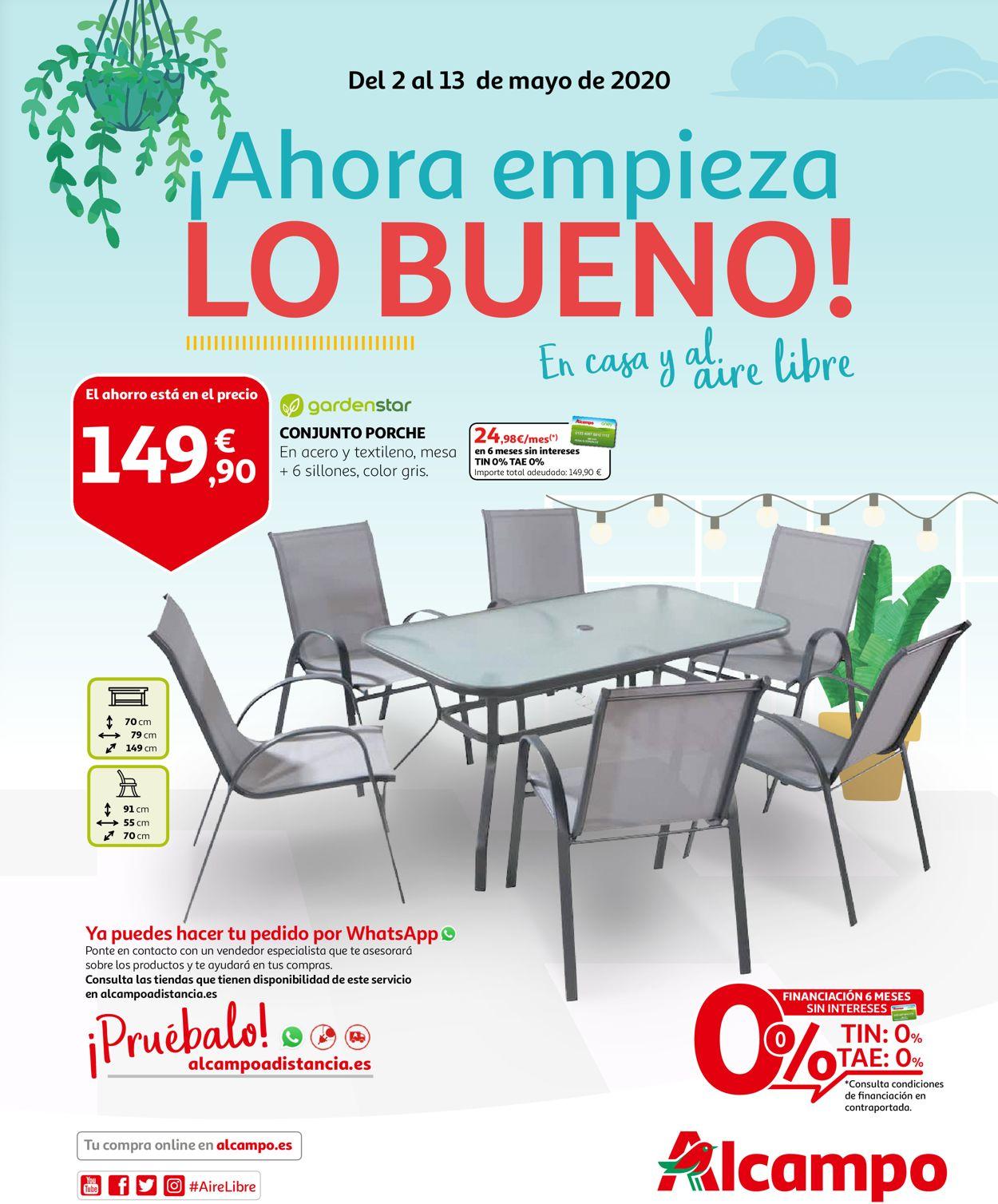 Alcampo Folleto - 02.05-13.05.2020