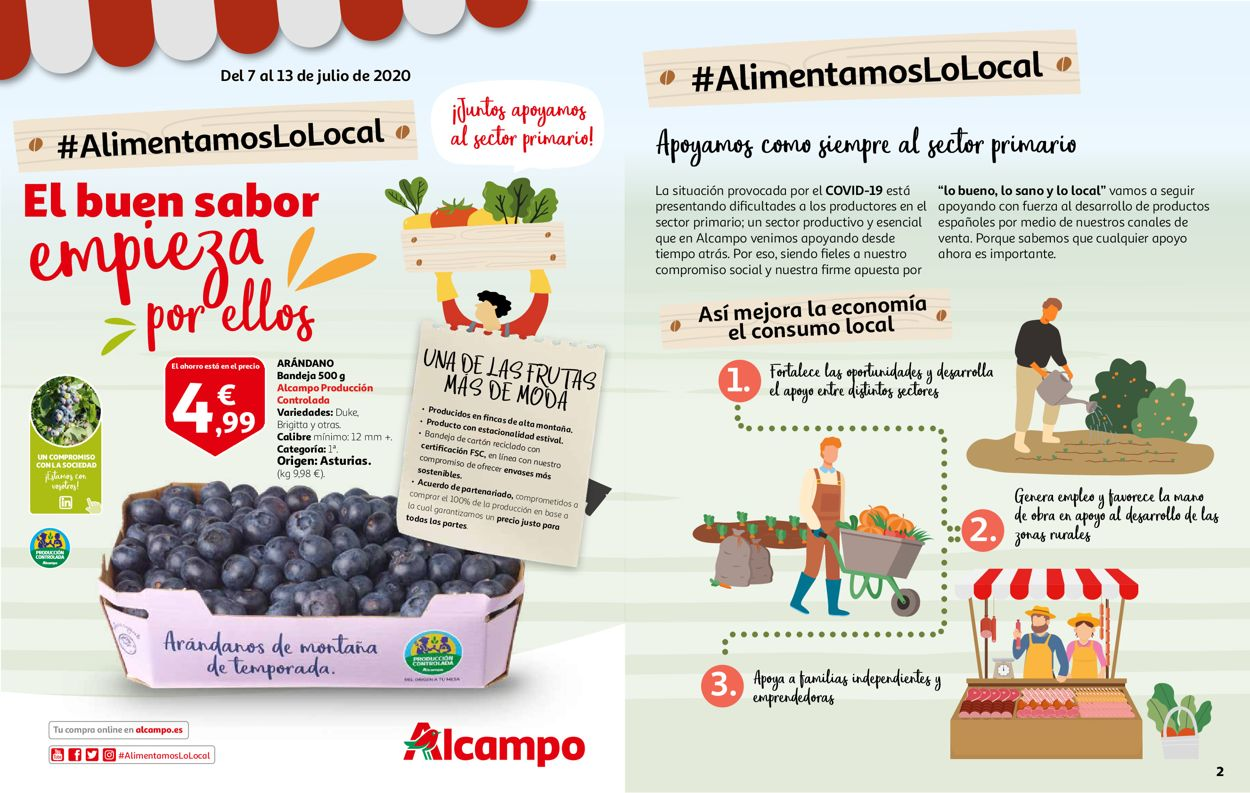 Alcampo Folleto - 07.07-13.07.2020
