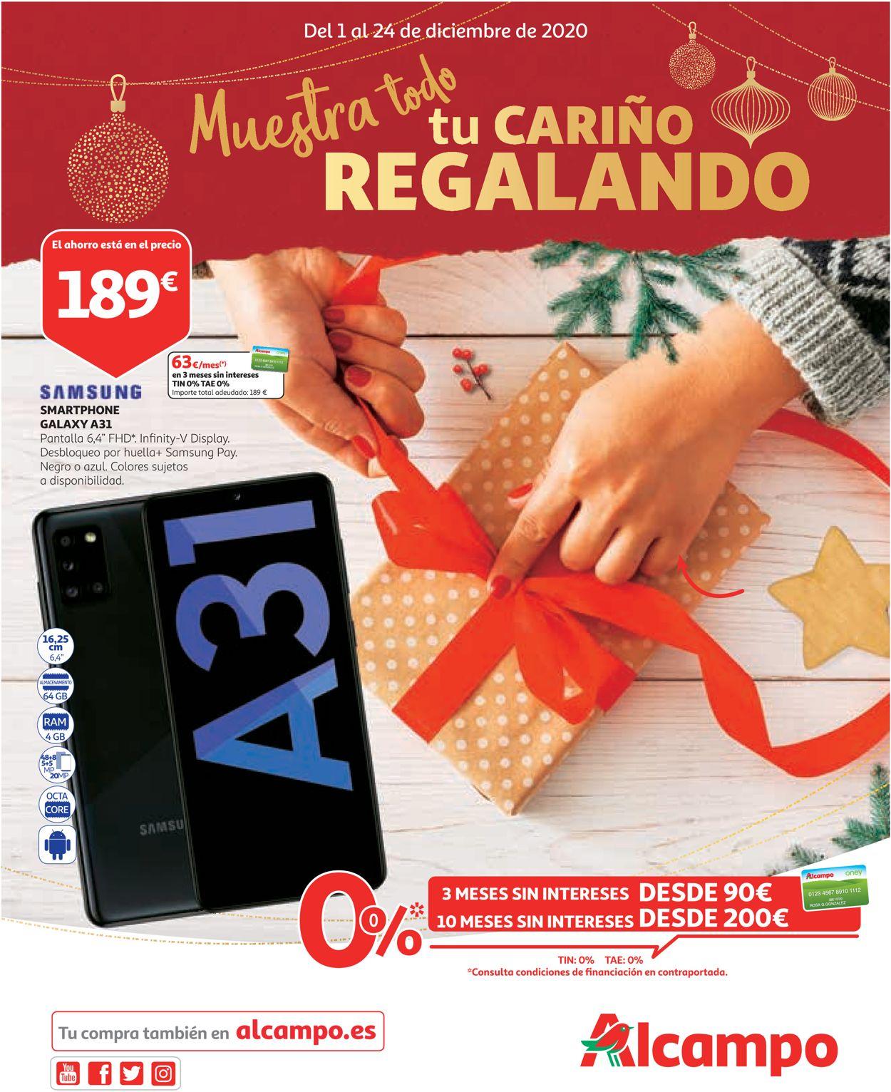 Alcampo Navidad 2020 Folleto - 01.12-24.12.2020
