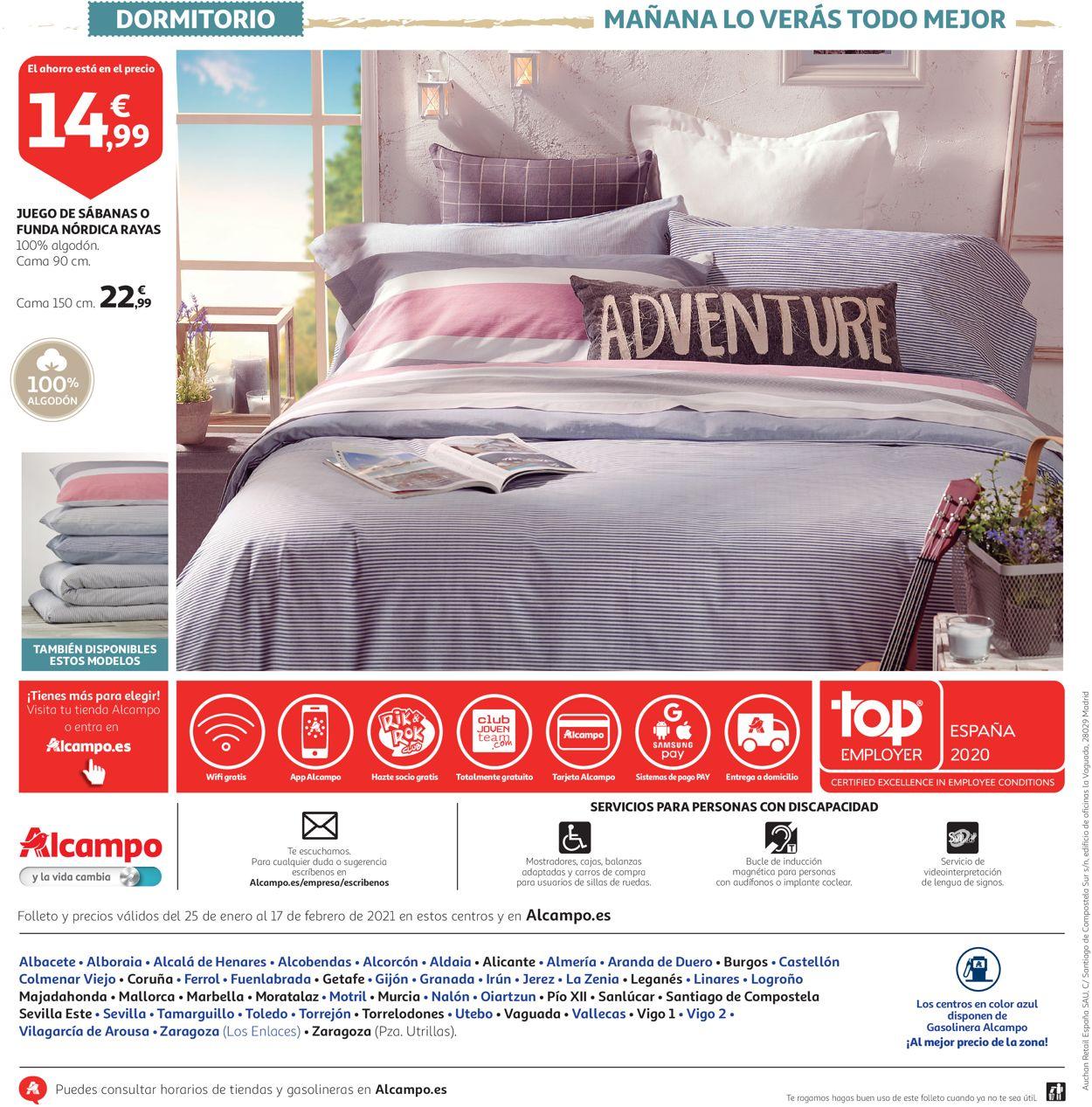 Alcampo Tu Casa 2021 Folleto - 25.01-17.02.2021 (Página 24)