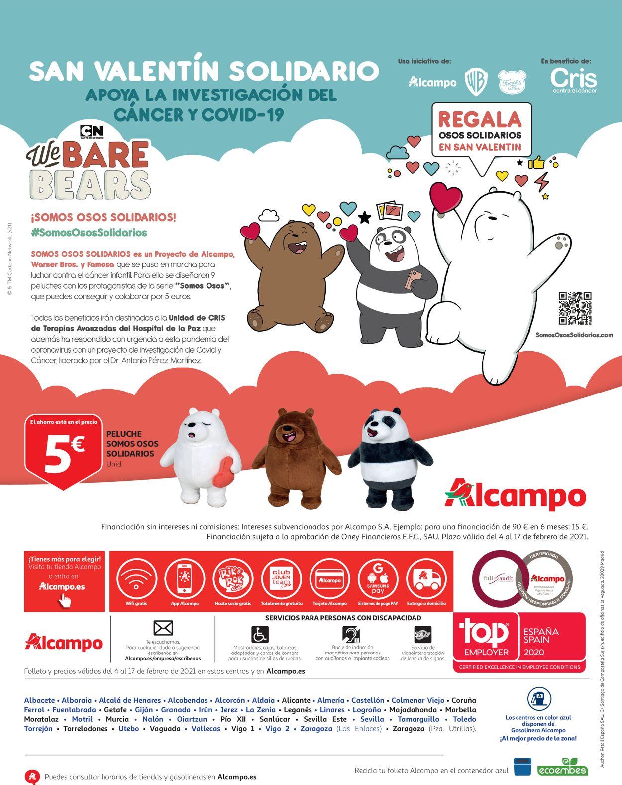 Alcampo Folleto - 04.02-17.02.2021 (Página 32)