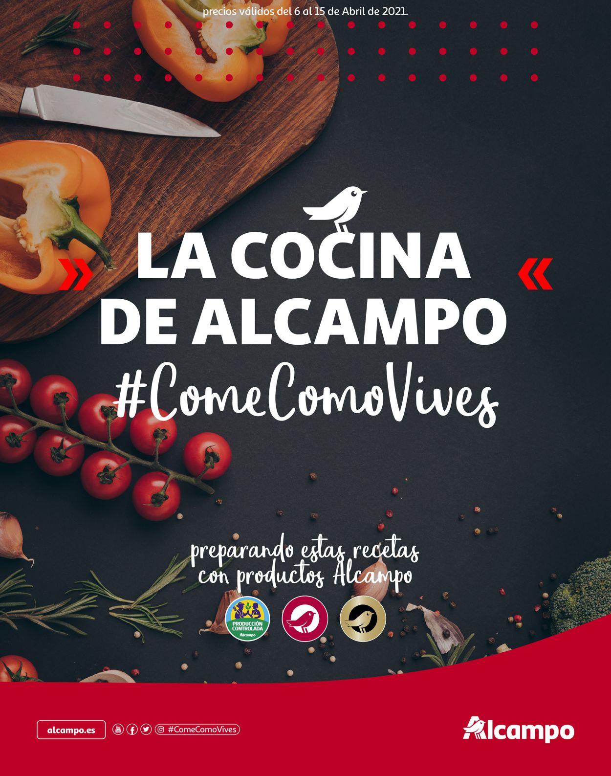 Alcampo Folleto - 06.04-15.04.2021
