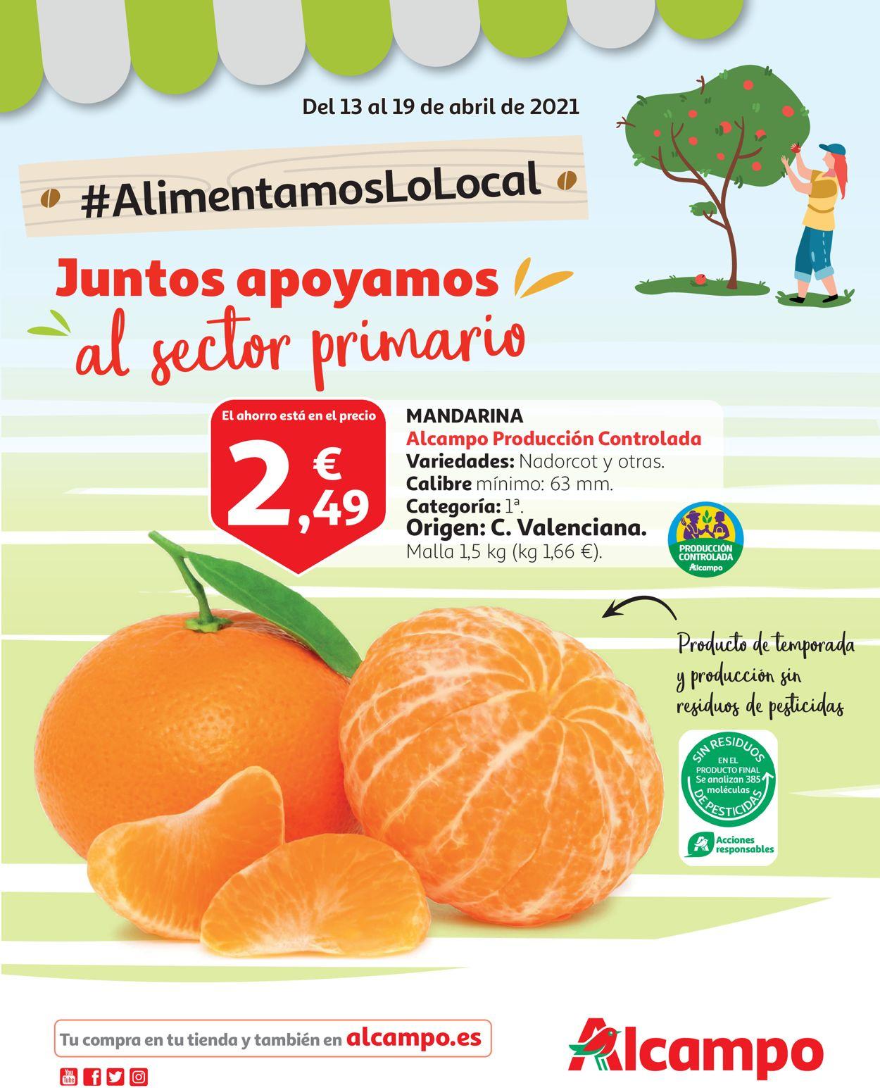 Alcampo Folleto - 13.04-19.04.2021