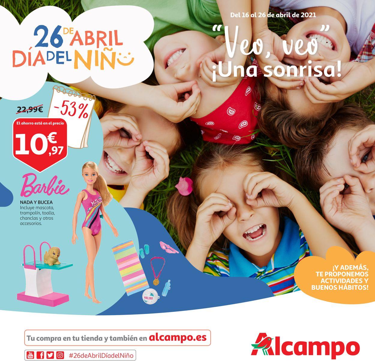 Alcampo Folleto - 16.04-26.04.2021