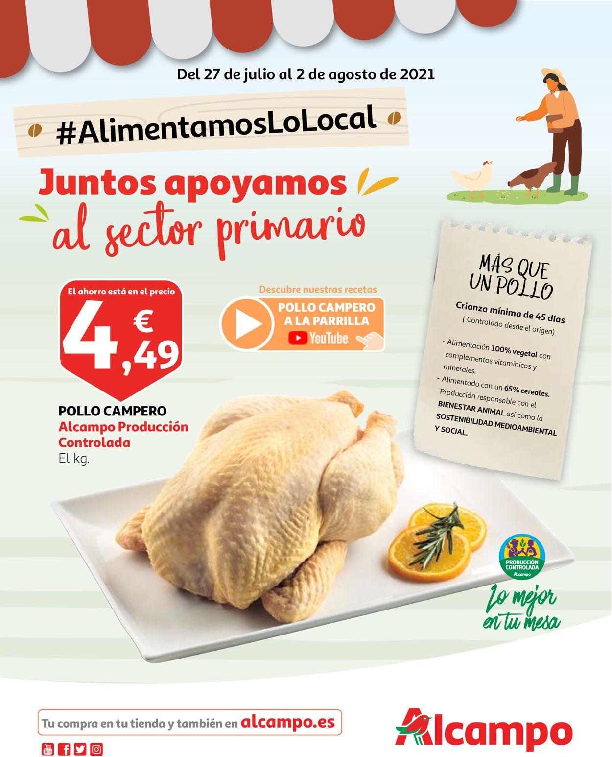 Alcampo Folleto - 27.07-02.08.2021