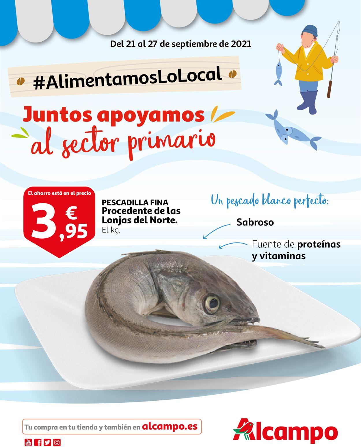 Alcampo Folleto - 21.09-27.09.2021