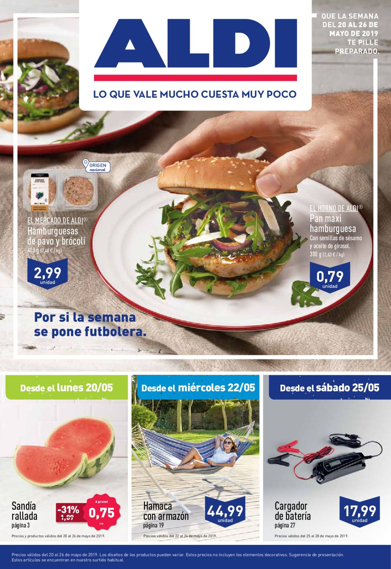 Aldi Folleto - 20.05-26.05.2019
