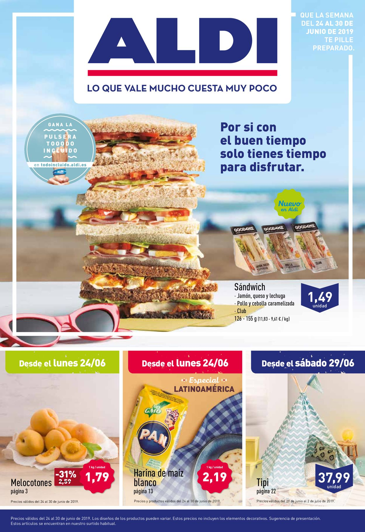 Aldi Folleto - 24.06-30.06.2019